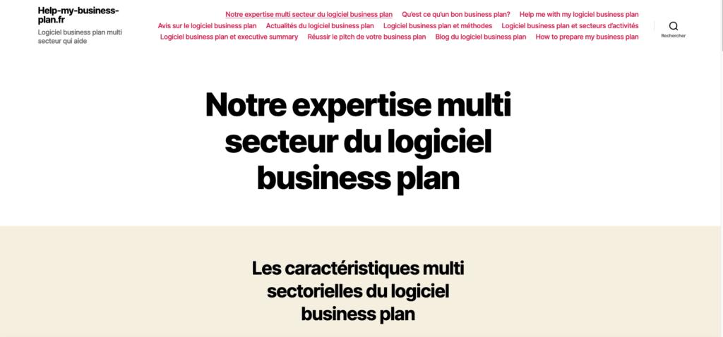 Logiciel business plan helpmybusinessplan