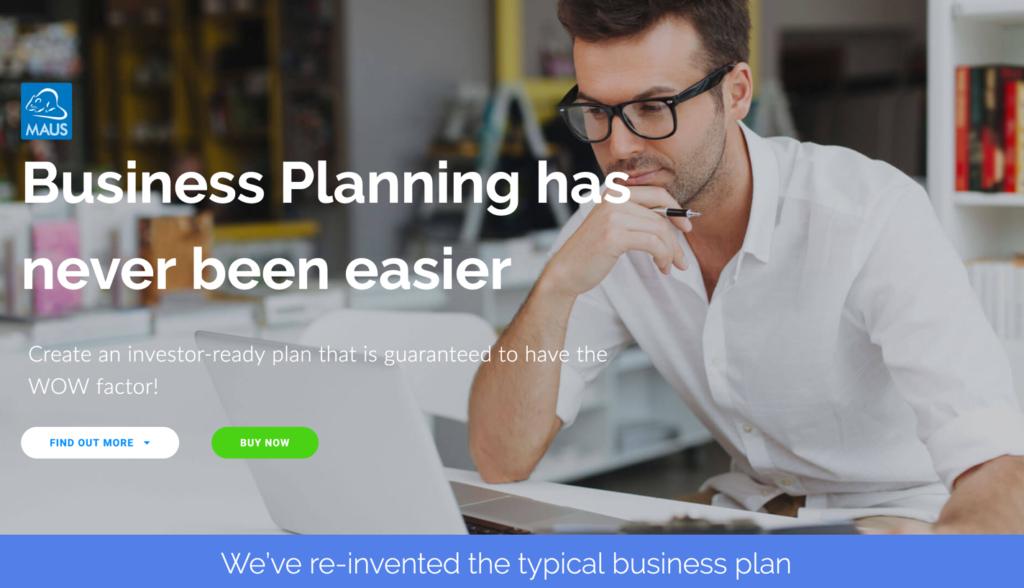 création de business plan